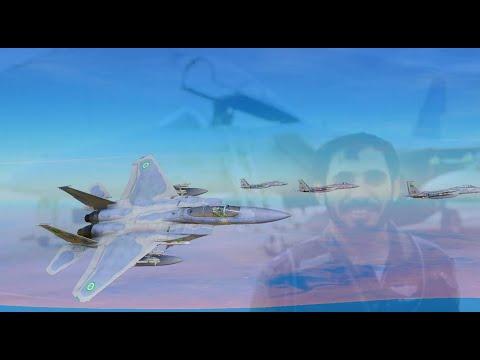 1 Saudi Arabian F-15 vs 2 Iraqi Mirage F1s (Gulf War) | DCS World Reenactment.
