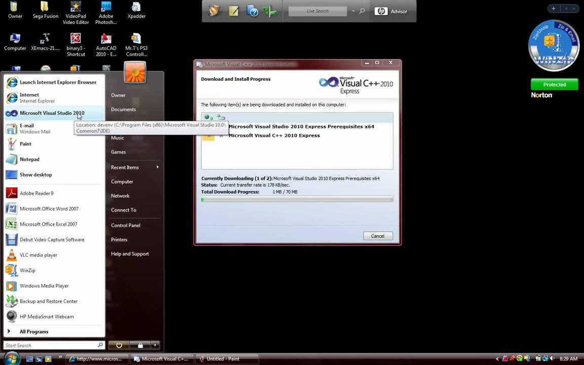 Visual studio c++ express 2010 download | Visual Studio 2010 ISO