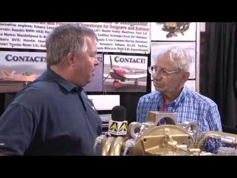 Aero-TV: Ralph Maloof Revs Up - Innovations For Homebuilt A/C Engines