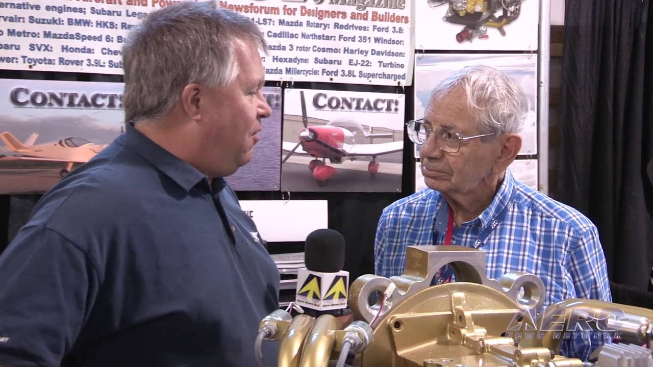 Aero-TV: Ralph Maloof Revs Up - Innovations For Homebuilt A/C Engines