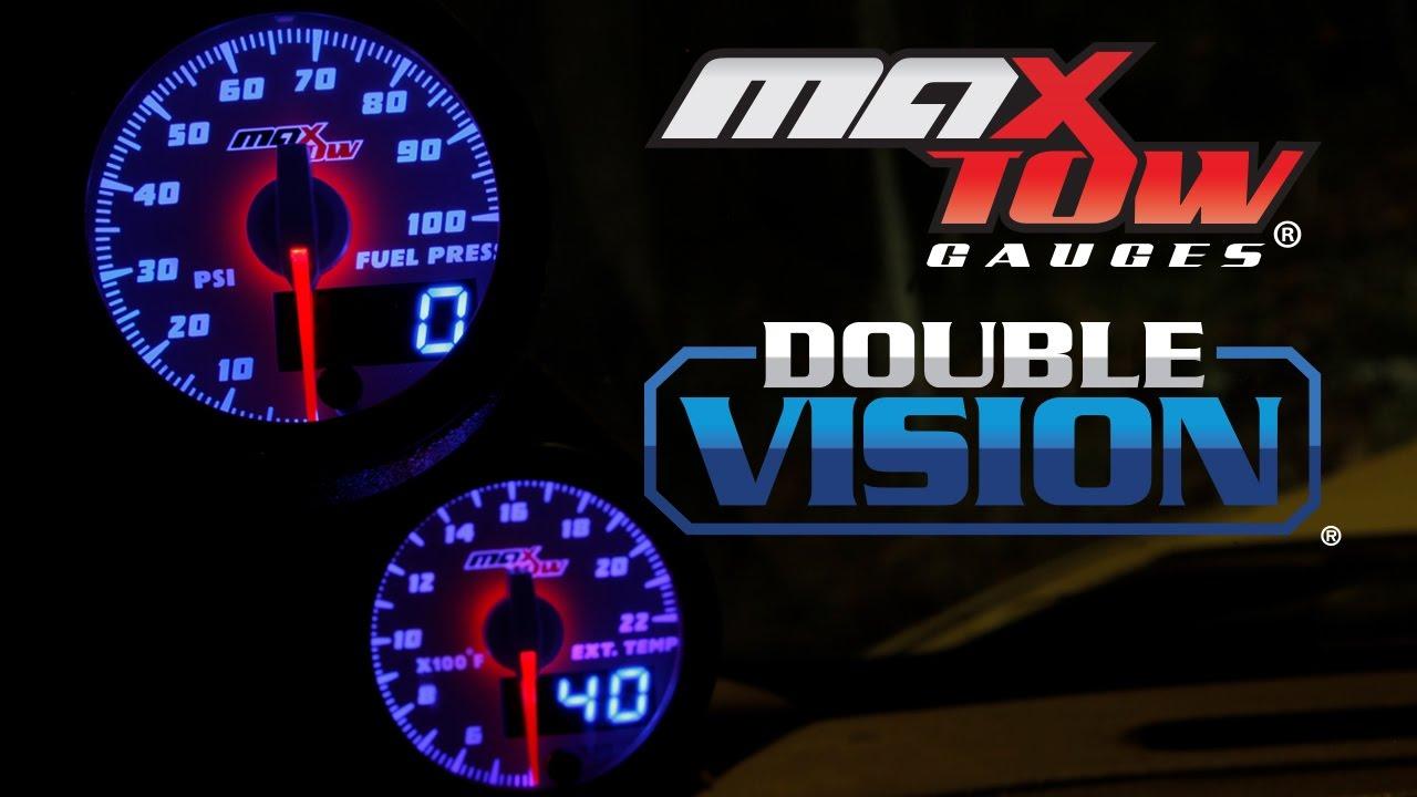 MaxTow Performance Diesel Gauges & Gauge Pillar Pods