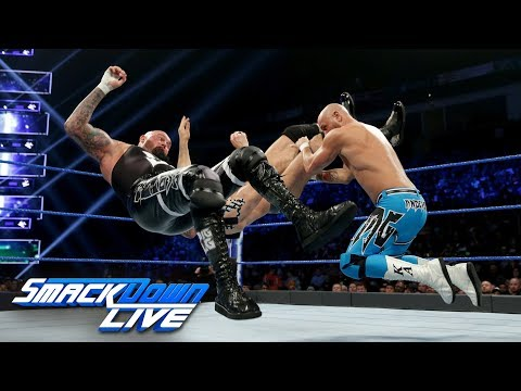 The Usos & Gallows & Anderson vs. The Bar & SAnitY: SmackDown LIVE, Dec. 25, 2018