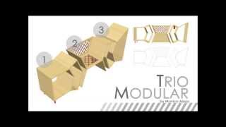 Ikea Singapore's Yda 2014: Trio Modular By Monica Alysia