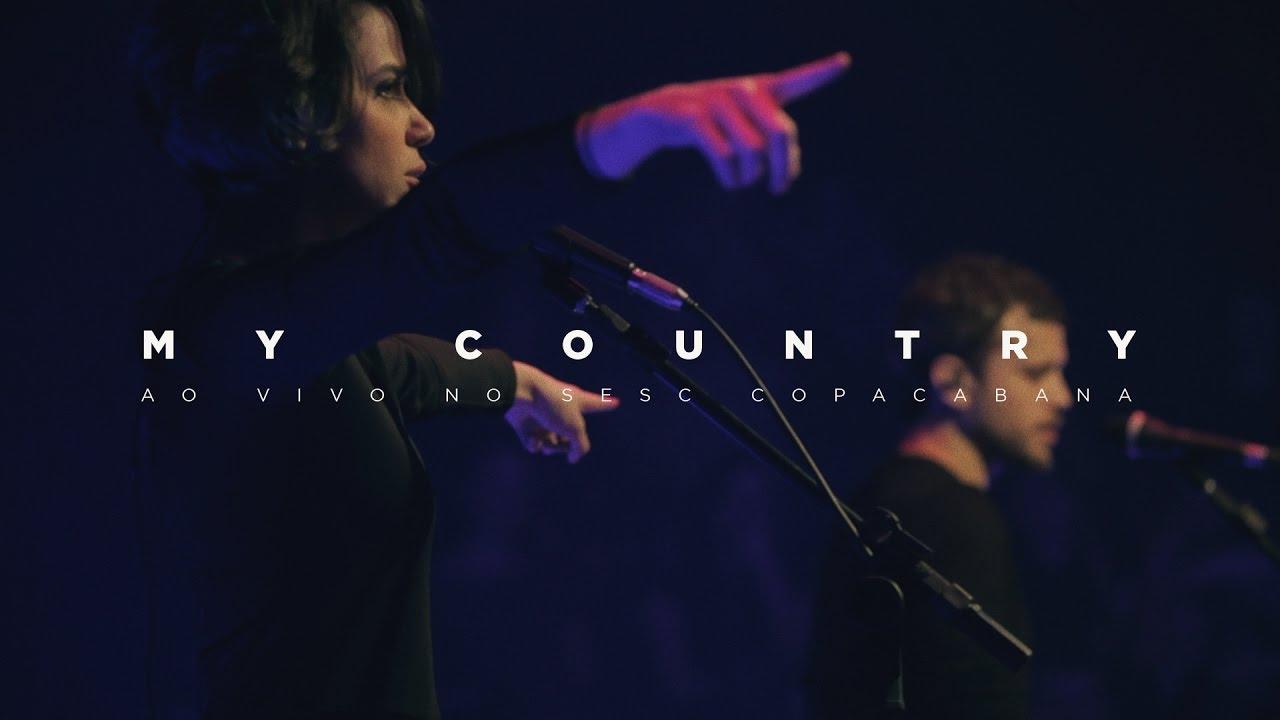 Baleia - My Country (Tune-Yards) ao vivo no Espaço Sesc
