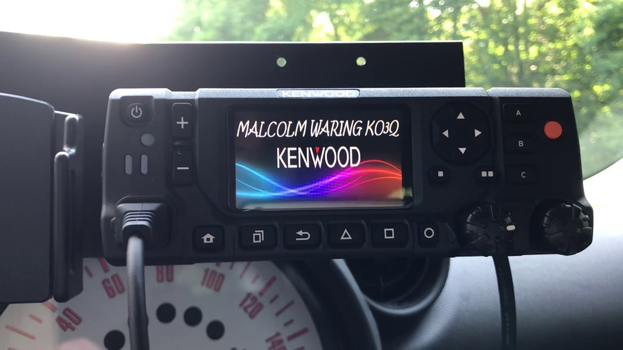 Kenwood NX-5800 / NX-5700 Installed