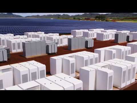 Tesla's solar + Powerpack project in Kauai