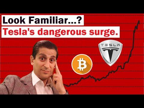 Dangerous Surge In Tesla Looks Like Bitcoin In 2017 | TSLA Stock Analysis