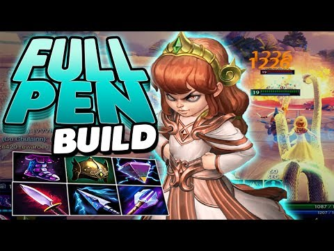 Smite: Full Pen Scylla Build - HE GETS THE DOUBLE BUT CAN HE GET THE TRIPLE?