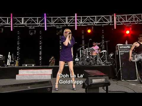 Goldfrapp  , White Horse & Oh La la  O2 Wireless Festival 2006mpg