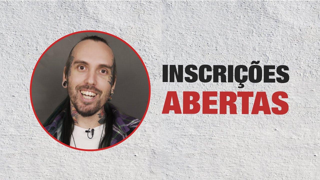 INSCRIÇÕES ABERTAS, VAGAS LIMITADAS!