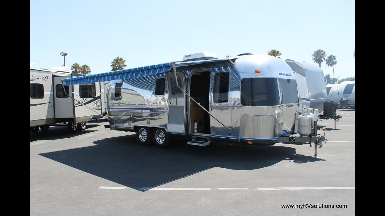 1984 Airstream 25 Sovereign Rv Solution Youtube