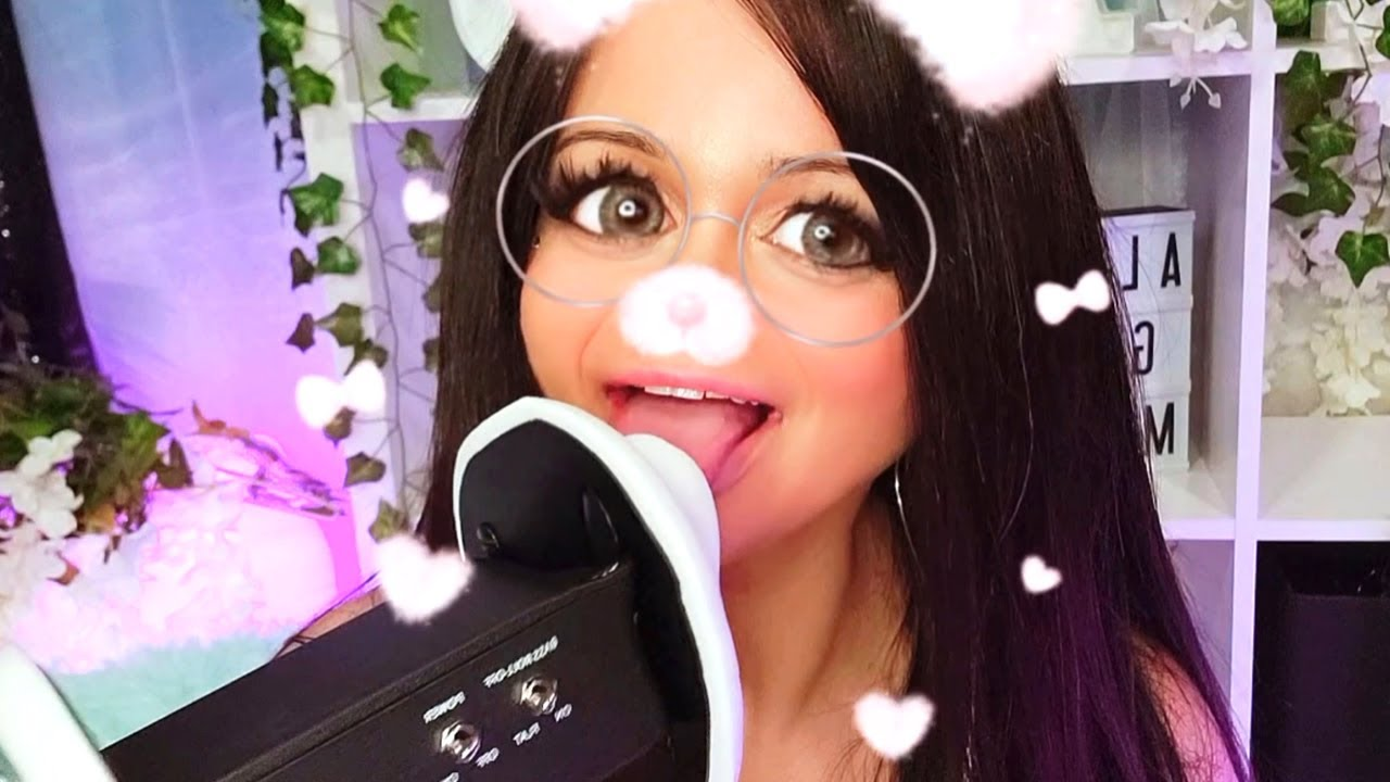 ASMR Ear Eating & Mouth Sounds 🌟 INSTAGRAM FILTERS 🌟