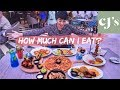 HOW MUCH CAN A SKINNY GIRL EAT? CAFE JAVA'S MUKBANG