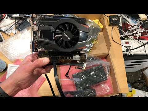 eGPU for Low End PC's Unboxing - EXP GDC External Video Card Adapter