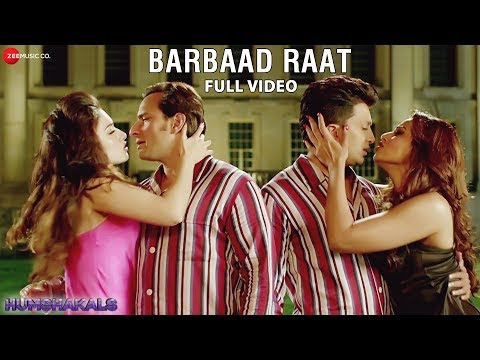 Barbaad Raat Full Video HD | Humshakals | Saif, Ritiesh, Bipasha, Tamannah
