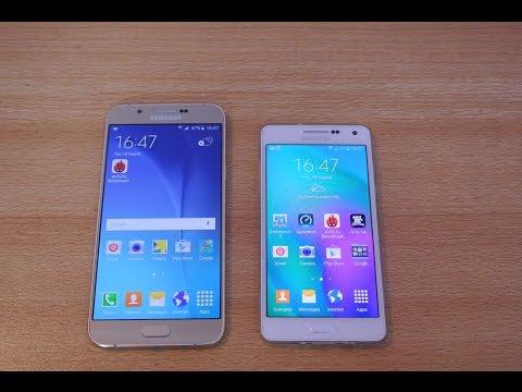 Samsung Galaxy A8 vs Galaxy A5 - Full Comparison HD