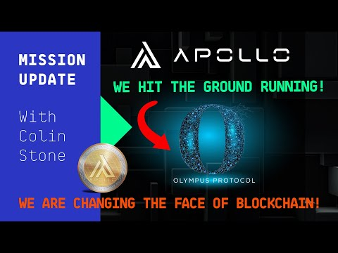 Mission Update #94 - Apollo currency, we hit the ground running!
