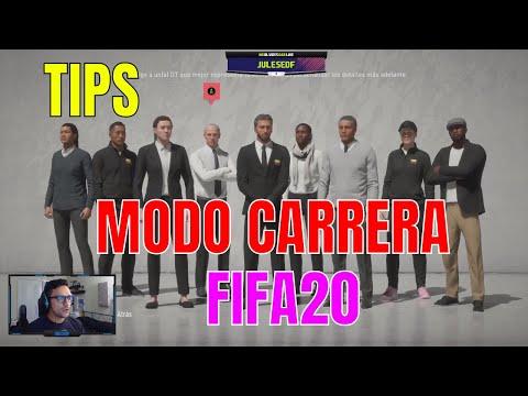 TIPS Modo Carrera Entrenador FIFA20