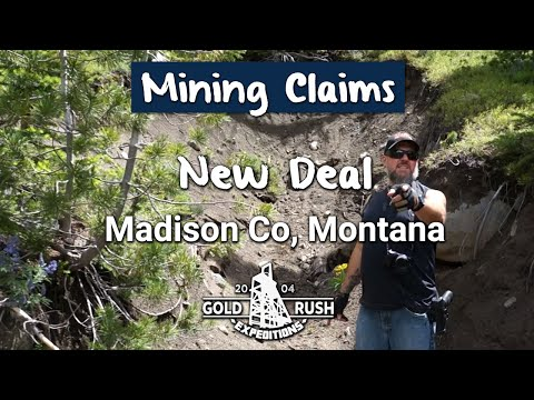 Historic New Deal Mining Claim - Montana - 2016