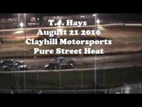 T.J. Hays Clayhill Motorsports Pure Street 8-21-10