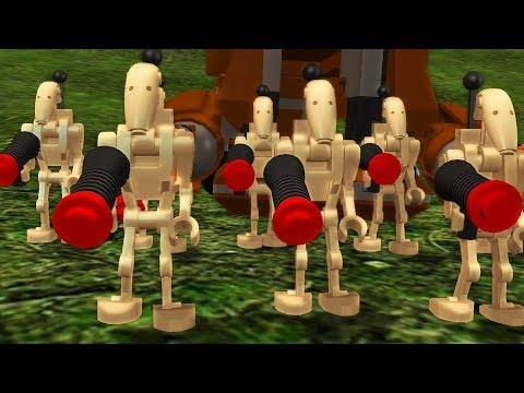 LEGO Star Wars The Complete Saga Walkthrough Part 5 - Rescue Mission!