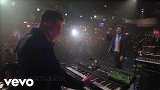 Passion Pit - Little Secrets (Live on Letterman)