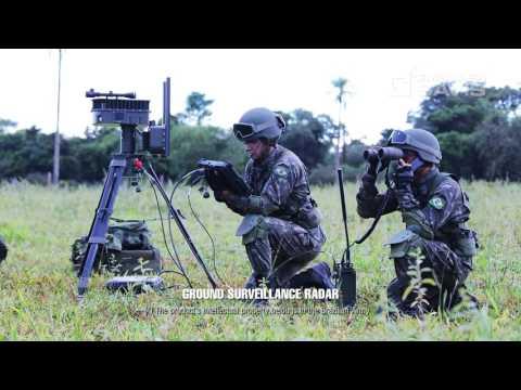 Filme do SISFRON é exibido na LAAD Defence & Security 2017.