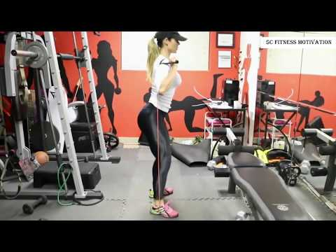 WETLOOK YOGA PANTS WORKOUT - Daniella Tamega