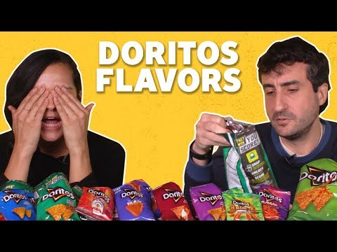 We Tried Doritos Flavors (ALL OF THEM) | TASTE TEST