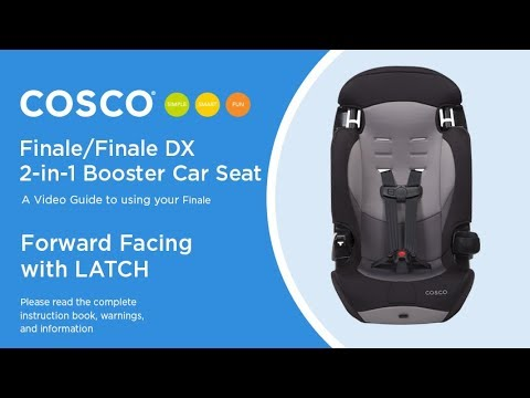 Finale/Finale DX 2-in-1 Booster Car Seat: Forward Facing with LATCH ...