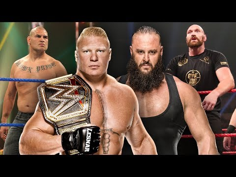 Brock Lesnar vs. Cain Velasquez and Braun Strowman vs. Tyson Fury announced for WWE Crown Jewel 2019