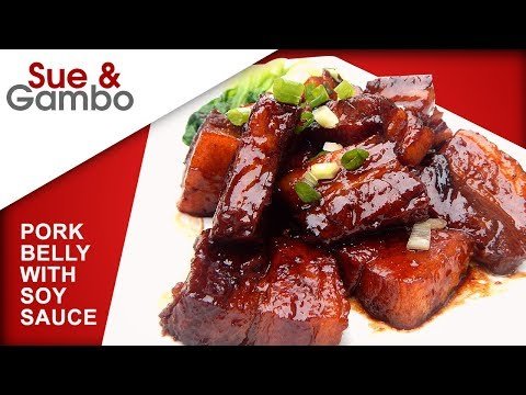 Pork Belly With Soy Sauce Recipe