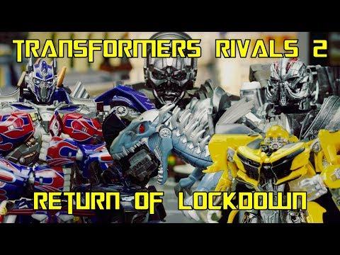 Transformers Rivals 2 - Return Of Lockdown - Stop Motion Animation