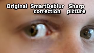 Deblur Photos with SmartDeblur
