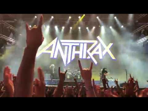 "Anthrax Performs ""Caught In A Mosh"" Live In Athens @Release Athens Festival, 30th Of June 2019"
