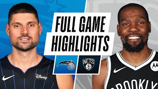 Game Recap: Nets 122, Magic 115