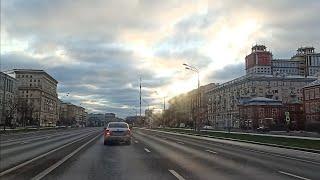 . Москва. Автопрогулка. 1 декабря 2019 г.