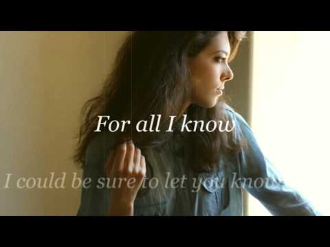 For All I Know (Remastered) - Irene Conti - Official Lyrics Video