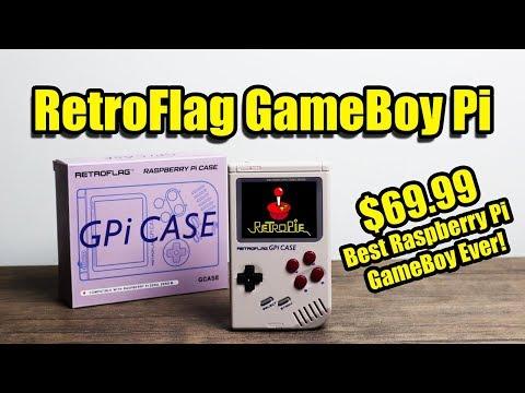 RetroFlag Gpi Case The Best Raspberry Pi GameBoy? $69.99
