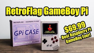 RetroFlag Gpi Case The Best Raspberry Pi GameBoy? $69.99