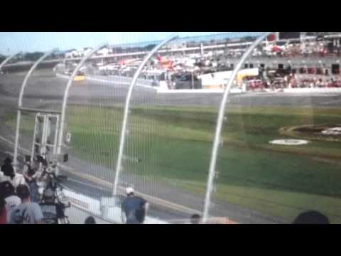 Up-close Video Of Crash From Stands At Daytona Race!!!
