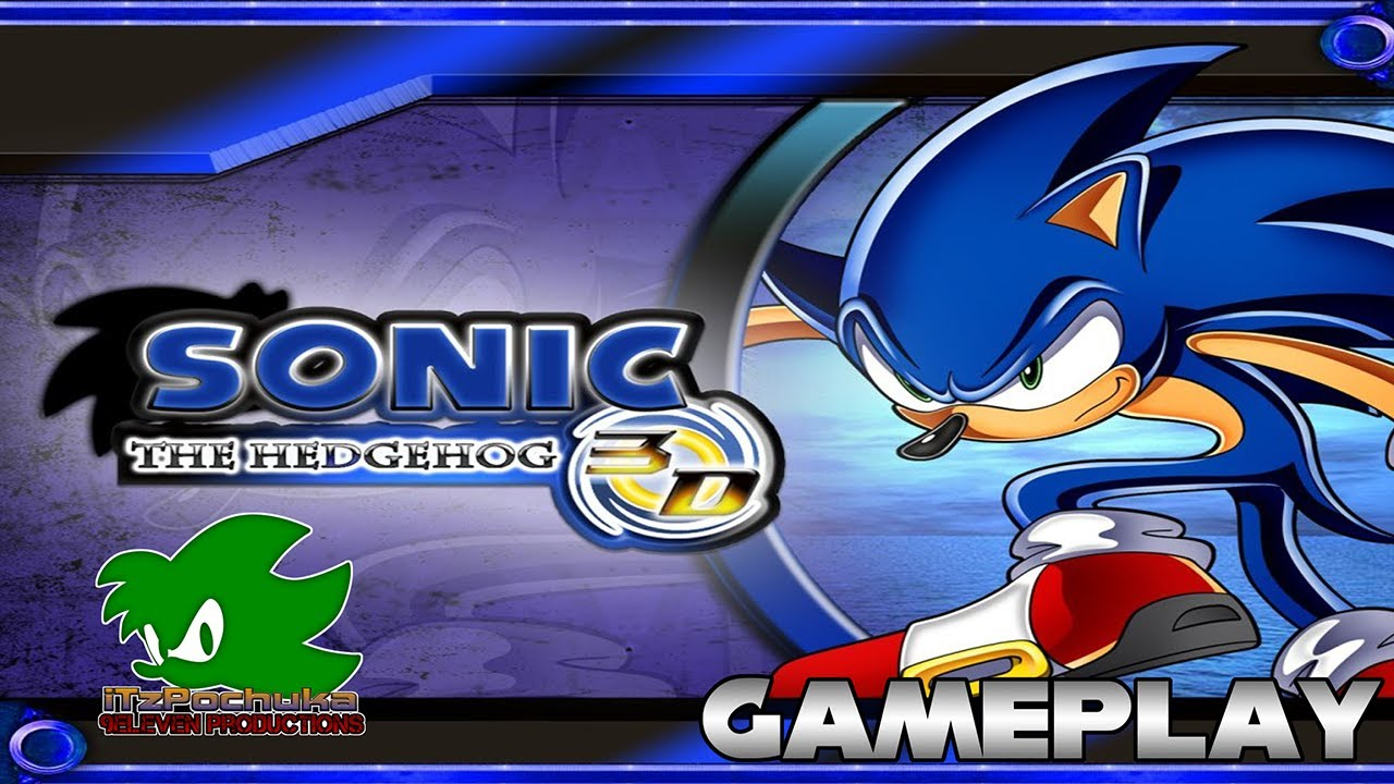 Fangame: Sonic The Hedgehog 3D Gameplay