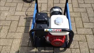 видео Бензиновый генератор SDMO HX 3000-C (-S)