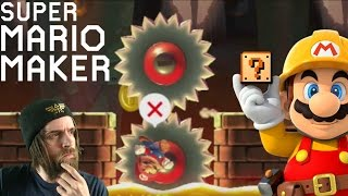 What's behind the SAW?   Subscriber Levels [#04] - Super Mario Maker