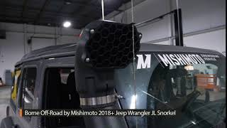 homepage tile video photo for Mishimoto R&D: Borne Off-Road 2018+ Jeep Wrangler JL/2020+ Gladiator Snorkel Sound Test