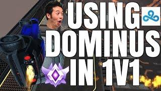 USING DOMINUS IN 1V1 | CEILING SHOT FAKE | GRAND CHAMPION 1V1