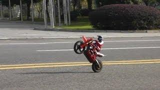 Super Rider SR4 -- More wheelies and cart wheelies