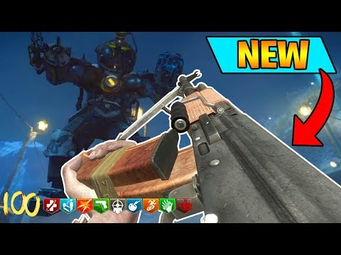 BLACK OPS 3 - NEW RPK WEAPON ADDED TO ZOMBIES GAMEPLAY (wtf lmao)