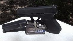 Federal Guard Dog 40 S&W 135gr Ballistic Gel Test
