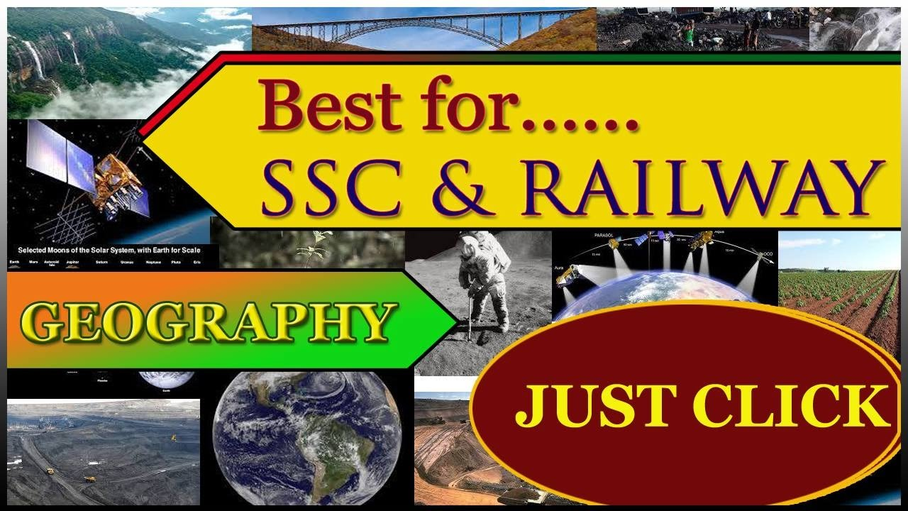 Most Expected Geography Questions for SSC CGL || SSC CHSL || SSC MTS || RAILWAYS || GK Questions